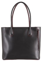 Lodis Cecily Leather Tote - Black