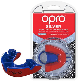 Opro Silver Level Mouthguard Adults