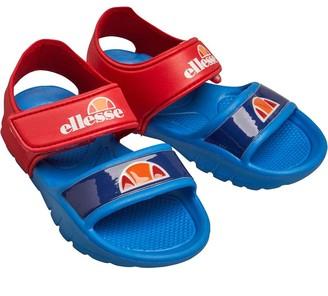 Ellesse Infant Boys Stitch Logo Sandals Royal/Red