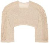 Mes Demoiselles Concha Fringed Sweater