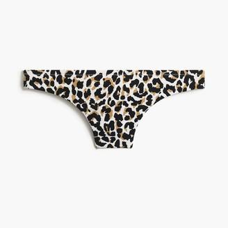 J.Crew Leopard french bikini bottom