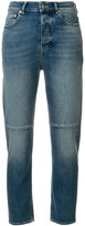 Golden Goose Deluxe Brand cropped stonewashed jeans