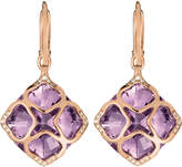 Chopard Imperiale 18ct rose-gold amethyst and diamond earrings