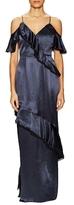 ABS by Allen Schwartz Liviah Ruffle Trimmed Gown