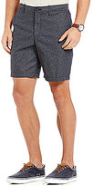 Original Penguin P55 Floral-Print Slim-Fit Flat-Front Shorts