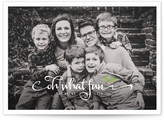 Minted Merry Holly Christmas Photo Cards