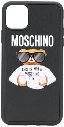 Moschino Teddy iPhone 11 Pro Max case