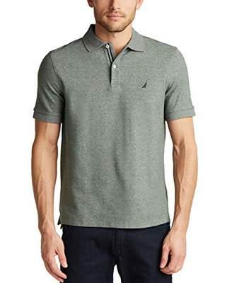 Nautica Men's Classic Short Sleeve Solid Polo Shirt