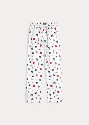Ralph Lauren Novelty-Print Pajama Pant