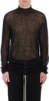 Rick Owens Men's Loose-Knit Alpaca-Blend Tunic Sweater