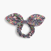 J.Crew Bow hair tie in Liberty® Kayoko floral