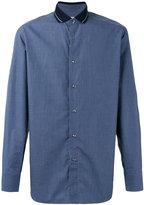 Brioni fine checked shirt - men - Cotton - L