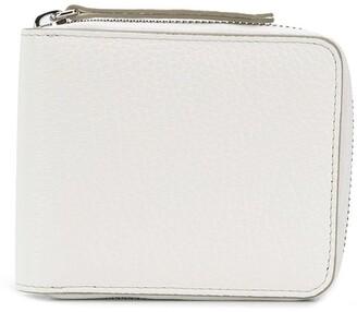 Maison Margiela four-stitch zipped wallet