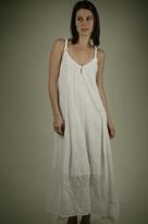 Gauze Dress - White