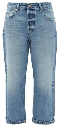 Raey Dad Baggy Boyfriend Jeans - Mid Blue