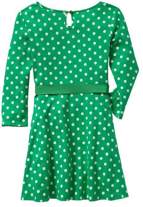 Gap Long-sleeve dot dress