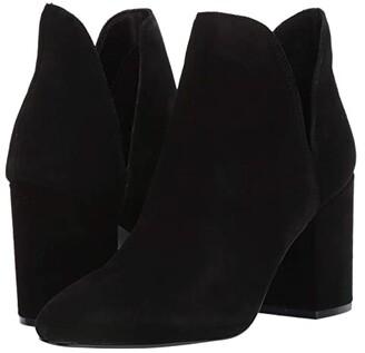 Steve Madden Rookie Bootie (Black Suede) Women's Boots