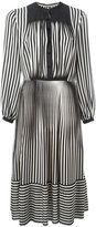 Marco De Vincenzo striped flared dress