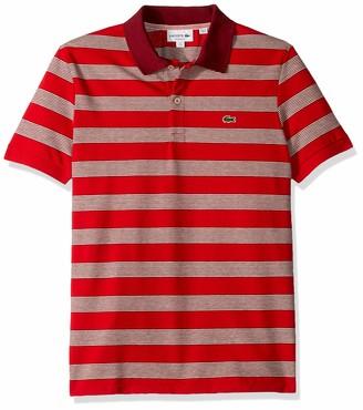 Lacoste Men's S/S Polo Pique Regular FIT Striped