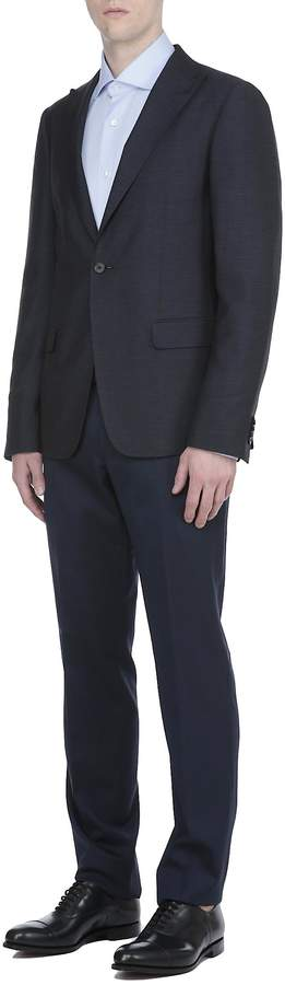 Ermenegildo Zegna Wool And Silk Blazer