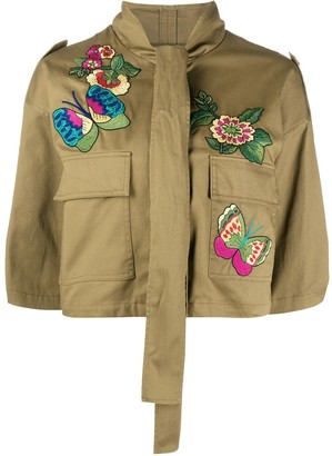 RED Valentino Bird Of Paradise Embroidered Jacket