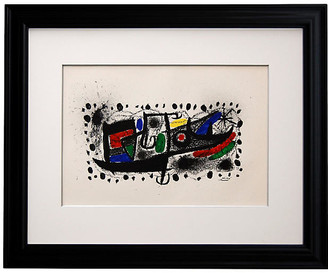 Munn Works Joan Miro - Star Scene Art