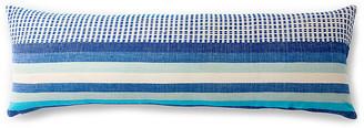 Bole Road Textiles Suri 12x36 Lumbar Pillow - Azure