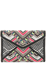Rebecca Minkoff Wonder Leo Clutch in Black.