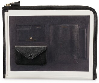 Anya Hindmarch Zip-Around Envelope Folio Case