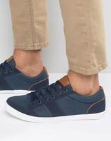 Pull&Bear Sneakers In Navy
