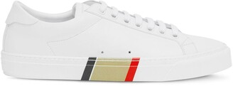 Burberry Stripe Print Low-Top Sneakers