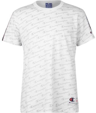 Champion Tape T Shirt Mens