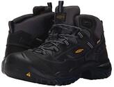 Keen Braddock Mid Waterproof Soft Toe (Raven/Estate Blue) Men's Work Lace-up Boots