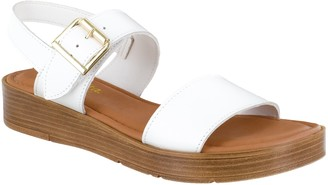 Bella Vita Adjustable Leather Sandals - Tay-Italy