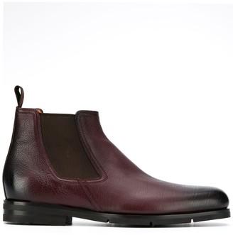 Santoni ankle chelsea boots