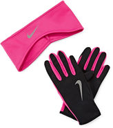 Nike Therma-FIT Fleece Running Headband and Glove Set
