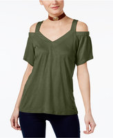 INC International Concepts Petite Cold-Shoulder Top, Only at Macy's