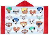 Pottery Barn Kids Allover Dogs Kid Beach Wrap