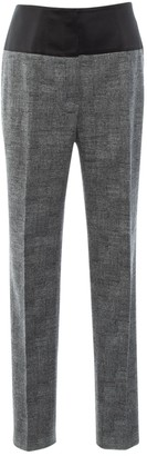 Christian Dior Grey Wool Trousers for Women