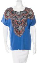 Stella McCartney Graphic Print Short Sleeve T-Shirt