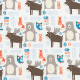 TREND LAB, LLC Trend Lab Scandi Forest Jumbo Flannel Swaddle Blanket