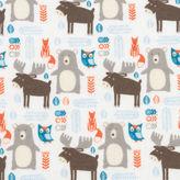 TREND LAB, LLC Trend Lab Scandi Forest Jumbo Flannel Swaddle Blanket