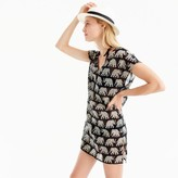 J.Crew Cotton cover-up in elephant print