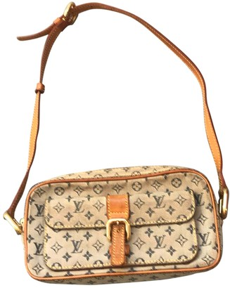 Louis Vuitton Pochette Accessoire Beige Denim - Jeans Clutch bags