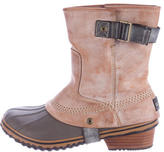 Sorel Distressed Ankle Boots