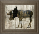 Classy Art Camouflage Animals- Moose by Tania Bello, Monl