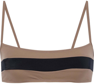Solid & Striped The Brooke Two-tone Bikini Top