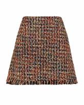 Ted Baker Boucle A Line Mini Skirt