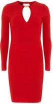 Dorothy Perkins Kardashian red goldbar dress