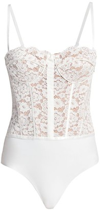 CAMI NYC The Bria Lace Bodysuit